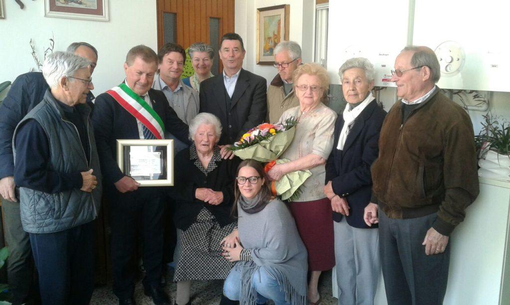 Jesolo ha una nuova centenaria, Enrica Vianello
