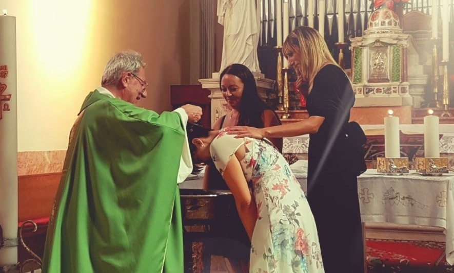 Naiara, la nuova cristiana di Portegrandi