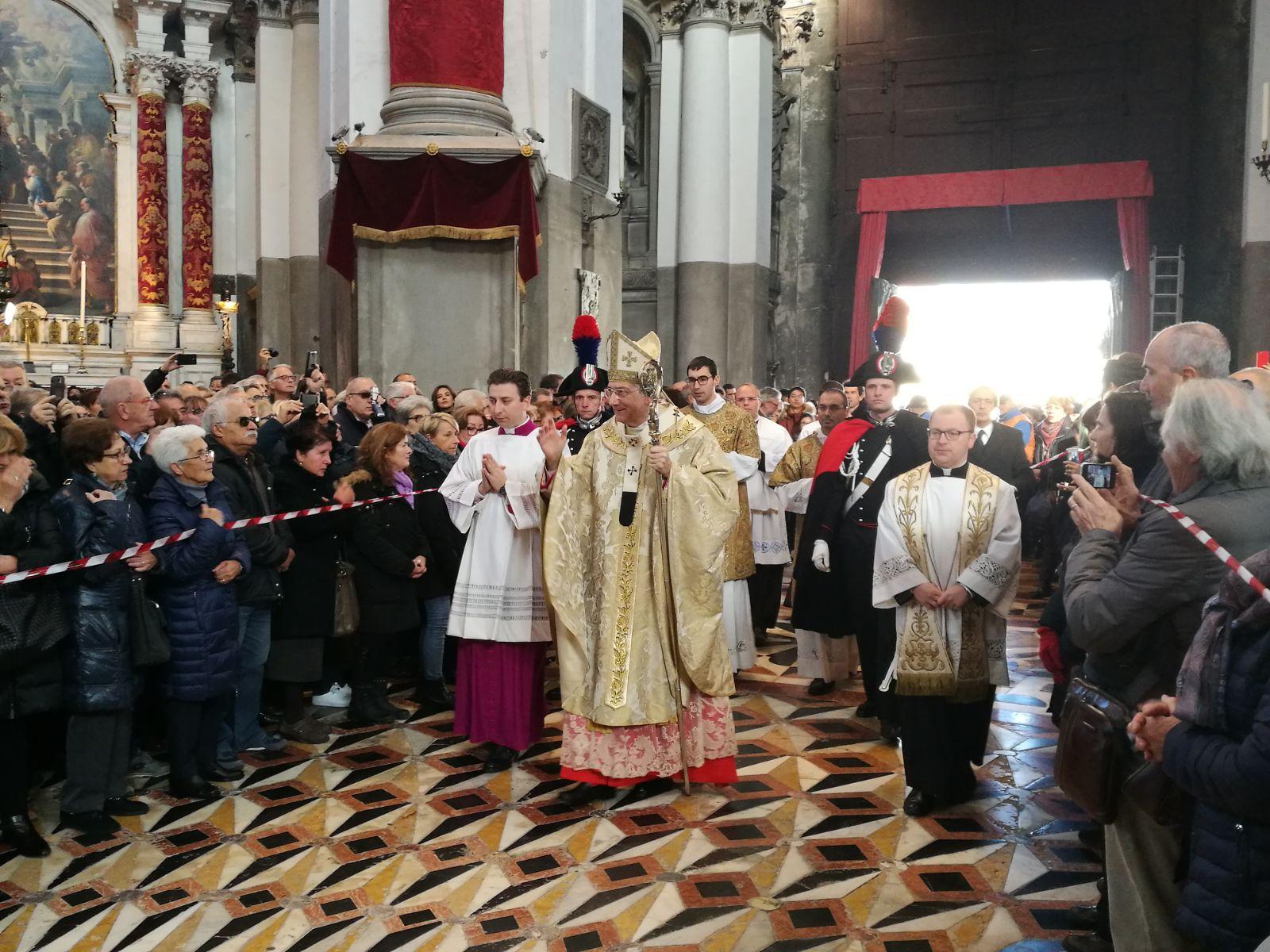 Il patriarca per la madonna della salute scommettiamo di - Arte bagno veneta quarto d altino ...
