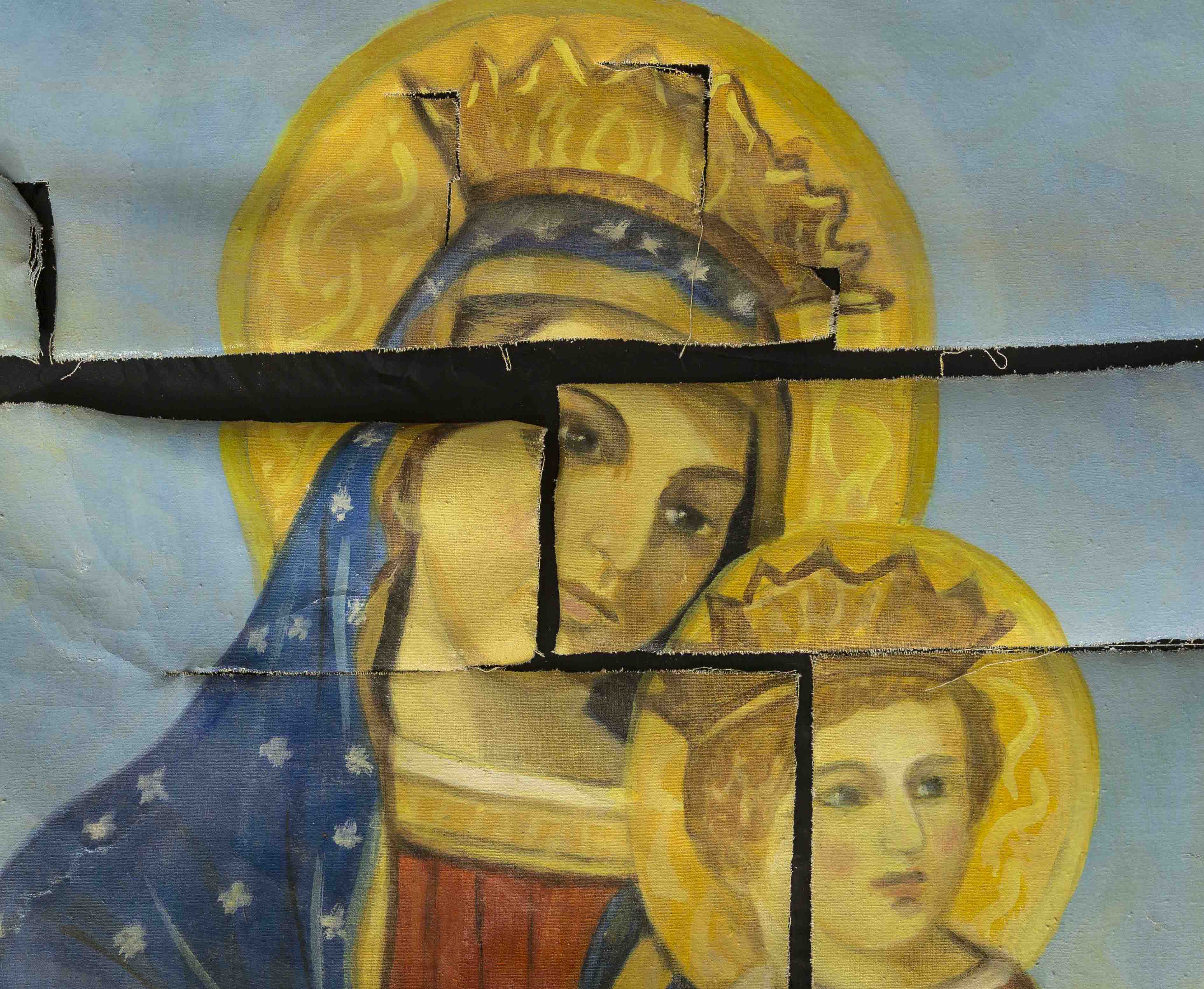 A venezia l artista che ha rammendato le opere d arte - Arte bagno veneta quarto d altino ...